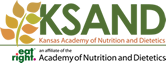 Kansas Academy of Nutrition and Dietetics Mobile Logo
