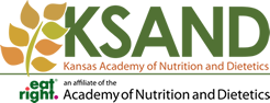 Kansas Academy of Nutrition and Dietetics Retina Logo