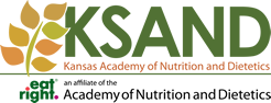 Kansas Academy of Nutrition and Dietetics Sticky Logo